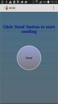 HiHi - NFC App poster