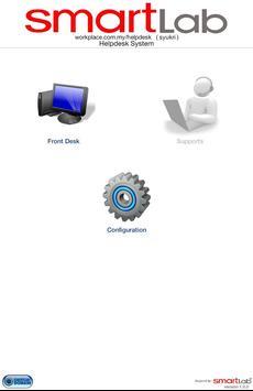 SmartLab Helpdesk poster