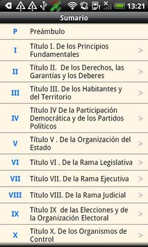 Colombia Constitution apk screenshot