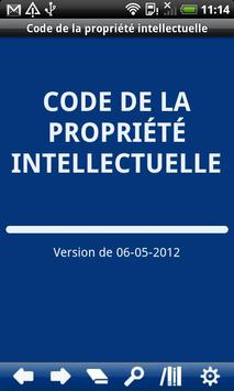 French Intellectual Property C poster