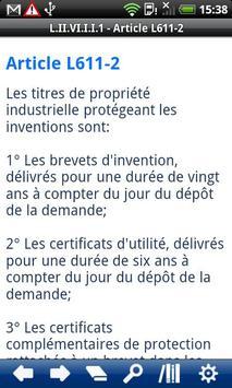 French Intellectual Property C apk screenshot
