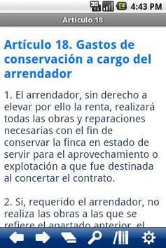Spanish Rustic Leasing Act apk screenshot