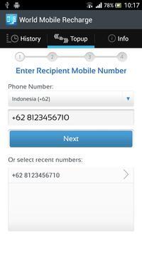 World Mobile Recharge apk screenshot