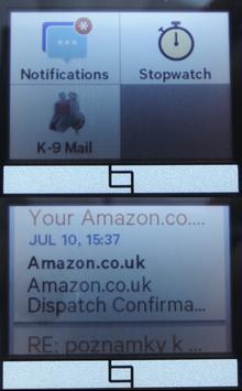 K-9 Mail for Toq apk screenshot