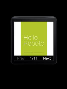 PDF Reader for Android Wear poster