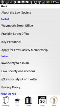 Law Society of South Australia apk screenshot