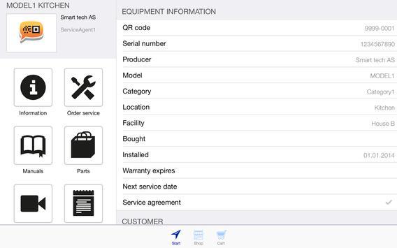 Smart-QR apk screenshot