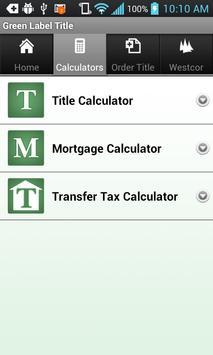Green Label Title apk screenshot