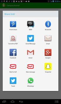 CampusJournal apk screenshot