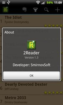 2Reader apk screenshot