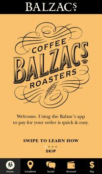 Balzacs Coffee Roasters poster