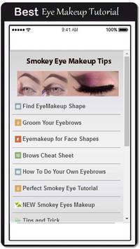 Smokey Eye Makeup Tips poster