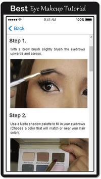 Smokey Eye Makeup Tips apk screenshot