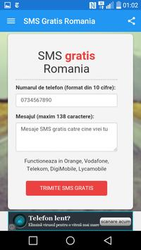 Romania Free Text Message poster