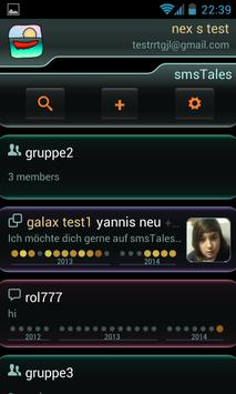 smsTales - Chat and SMS apk screenshot
