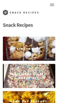 Appetizers Snack Recipes apk screenshot