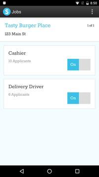 Snagajob for Employers apk screenshot