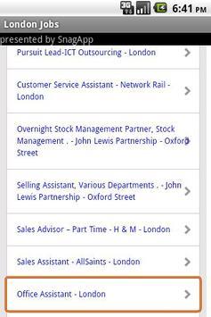 London Jobs apk screenshot