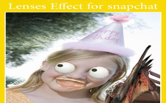 Guide Lenses for snapchat Tip apk screenshot