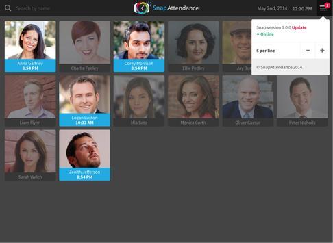 SnapAttendance Time Clock apk screenshot