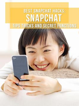 Tips and secret snapchat guide apk screenshot