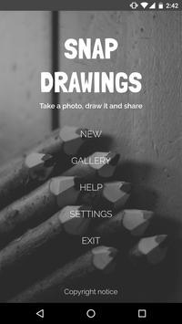 Snap Drawings poster