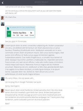 SnapEngage Live Chat apk screenshot