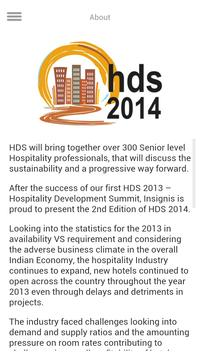 HDS 2014 poster