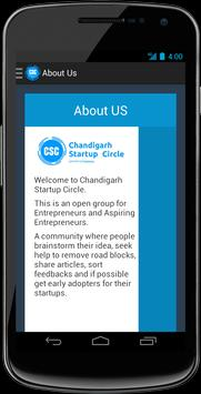 Chandigarh Startup Circle apk screenshot