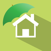 Insurance for realty & homes icon