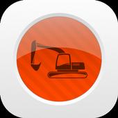 Track Construction Equipment icon