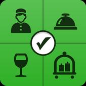 Hospitality inspection icon