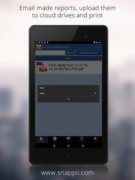 Oil & Gas Rig Inspection App apk screenshot