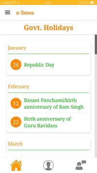 e-Sewa Punjab apk screenshot