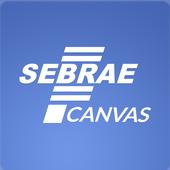 Sebrae Canvas icon