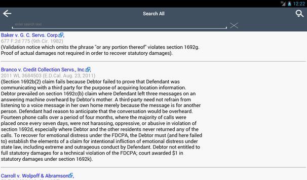 FDCPA apk screenshot