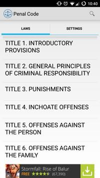 TxLaws2Go - Texas Laws (Free) apk screenshot