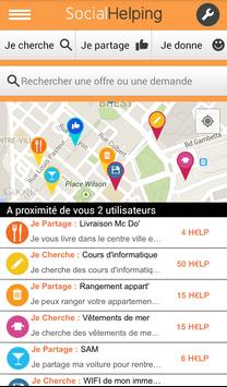 Social Helping apk screenshot