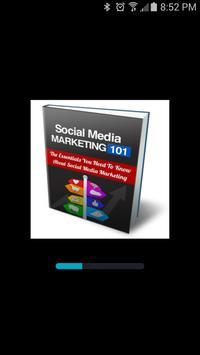 Social Media Marketing 101 poster