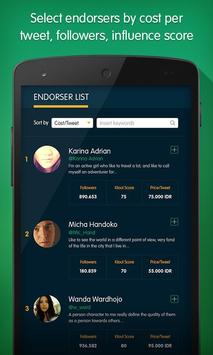 Social Endorser apk screenshot