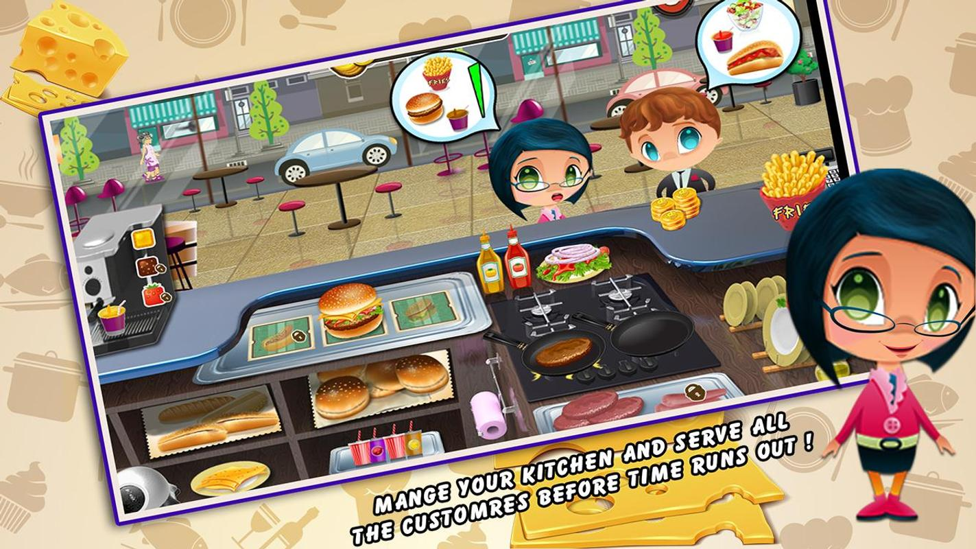 Kitchen Fever Cooking Game Apk Download Free Casual Game For Android