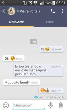 DapDom Messenger apk screenshot