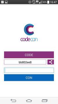 CodeCon - Secure Conversations apk screenshot