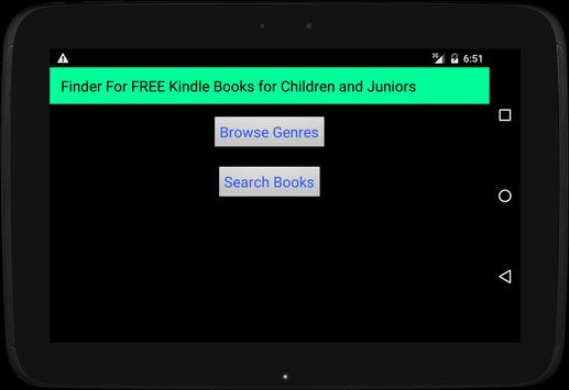 FREE Kindle Books for Juniors poster
