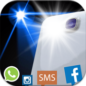 Flash Notification for All SMS icon