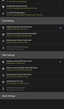 Flash Notification for All SMS apk screenshot