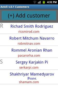Manage sales delivery routes. apk screenshot