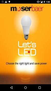 Lets LED poster