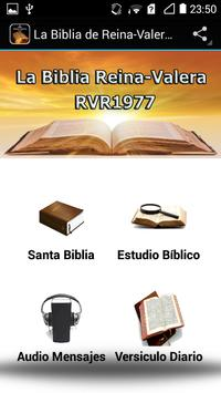 La Biblia de Reina-Valera 1977 poster