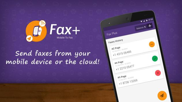 Fax Plus - Send Fax from Phone apk screenshot